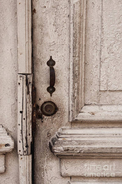 Photograph - Once A White Door by Ana V Ramirez