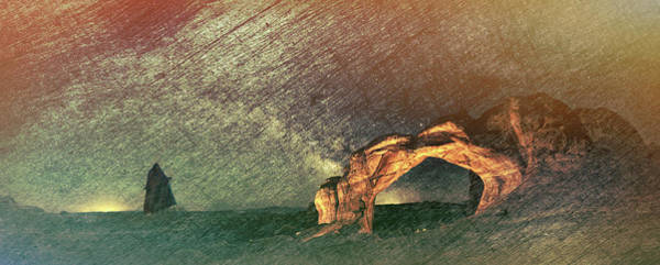 Digital Art -  Once Again There Was The Desert by OLena Art Brand