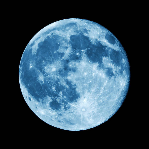 Photograph - Once In A Blue Moon by Denise Beverly