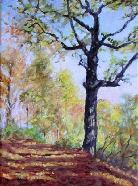 Roanoke Wall Art - Painting - Once Remembered by Bonnie Mason
