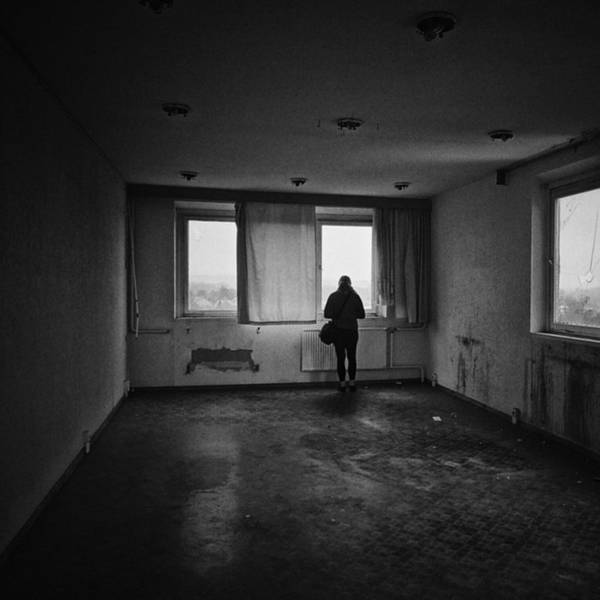 Monochrome Photograph - Once There Was A Place To Live And To by Mandy Tabatt