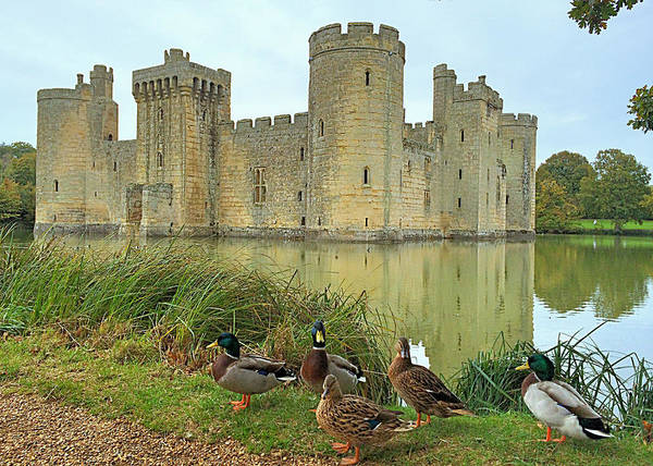 Bodiam Photograph - Once Upon A Time by Vicky Adams
