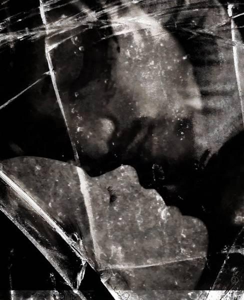 Broken Glass Digital Art - Once We Had A Dream by Gun Legler