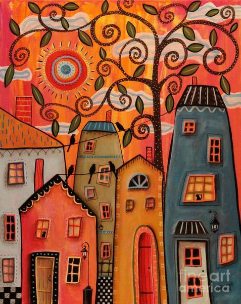 Wall Art - Painting - One Afternoon by Karla Gerard