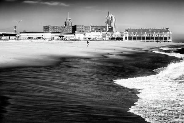 Photograph - One At Asbury Park Beach by John Rizzuto