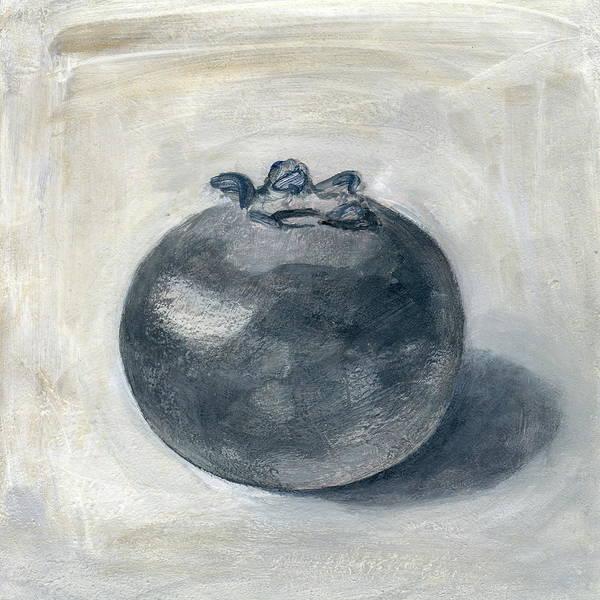 One Blueberry Art Print