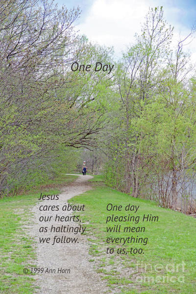 Livonia Photograph - One Day by Ann Horn