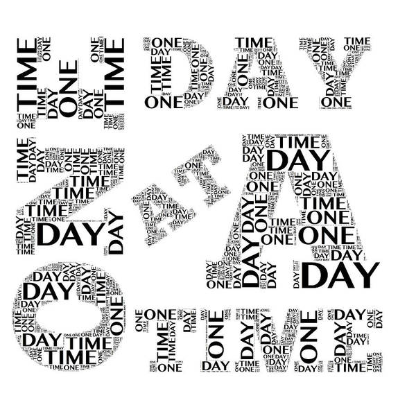 Digital Art - One Day At A Time by Alice Gipson