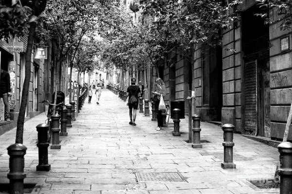 Photograph - One Day In The Gothic Quarter Barcelona by John Rizzuto