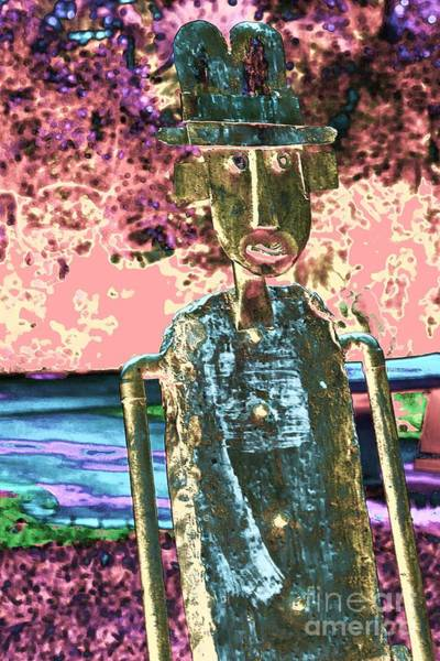Photograph - One Dimensional Man by Marcia Lee Jones