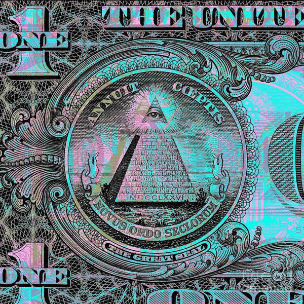 One-dollar-bill - $1 - Reverse Side Art Print