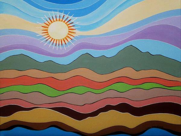 Wall Art - Painting - One Fine Day II by Carol Sabo