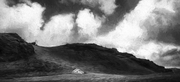 Digital Art - One House On The Hill II by Jon Glaser