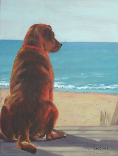 Painting - One Last Look by Jill Ciccone Pike