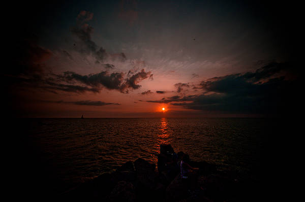 Wall Art - Photograph - One Last Sunset by Melissa  Riggs
