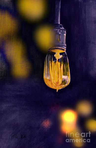Painting - One Light by Allison Ashton