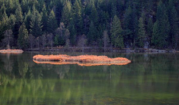 Photograph - One Mile Lake Landscape by Pierre Leclerc Photography