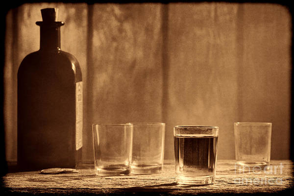 Photograph - One More Drink by American West Legend By Olivier Le Queinec