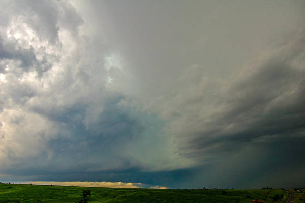 Photograph - One Mutha Of A Supercell 003 by NebraskaSC