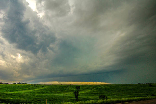 Photograph - One Mutha Of A Supercell 007 by NebraskaSC