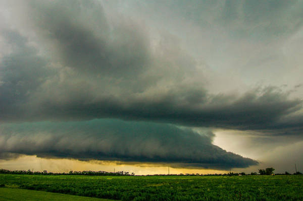 Photograph - One Mutha Of A Supercell 012 by NebraskaSC