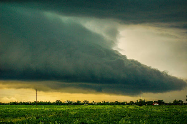 Photograph - One Mutha Of A Supercell 015 by NebraskaSC