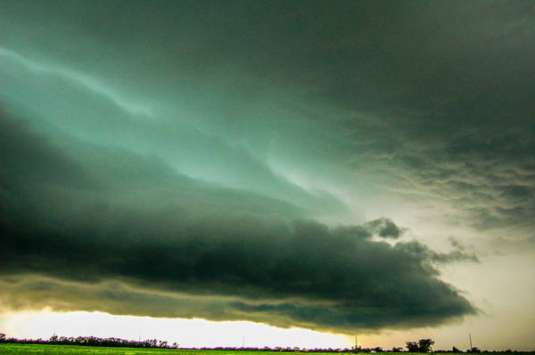 Photograph - One Mutha Of A Supercell 021 by NebraskaSC