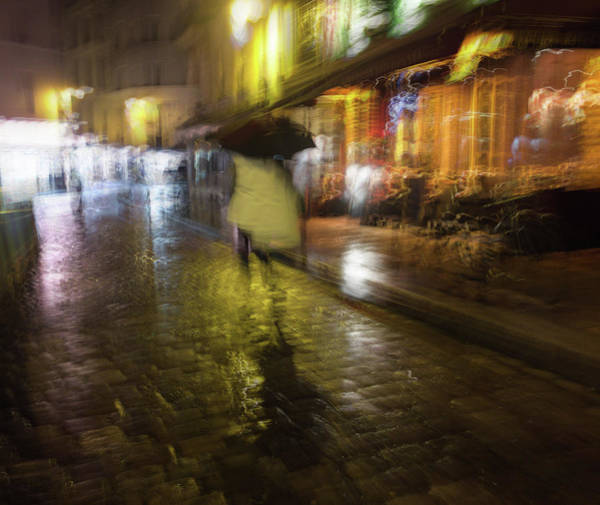 Photograph - One Night In Paris by Alex Lapidus