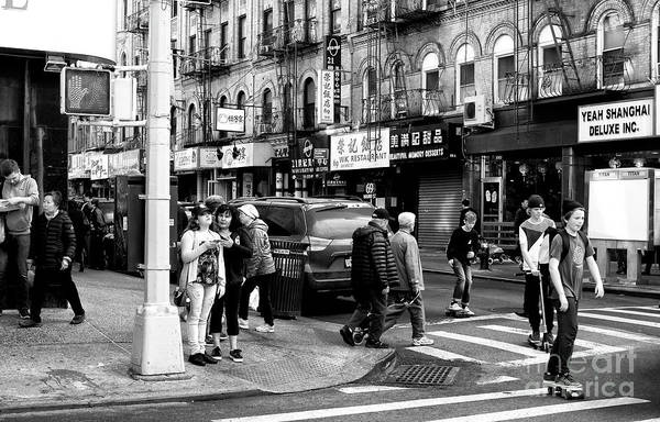 Photograph - One Of Those Chinatown Days by John Rizzuto