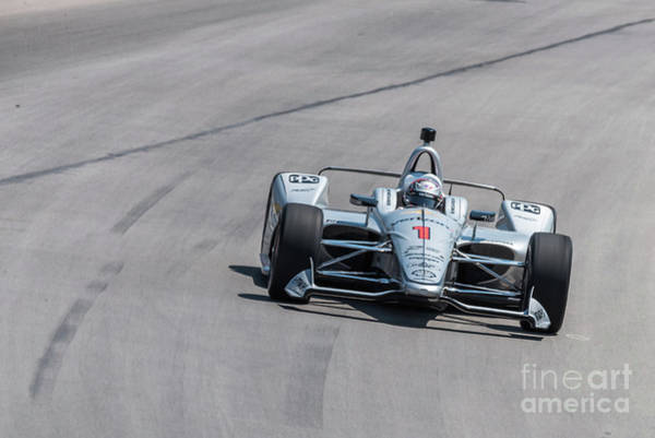 Photograph - Josef Newgarden by Paul Quinn