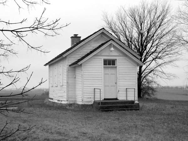 Photograph - One Room School House by Viviana  Nadowski
