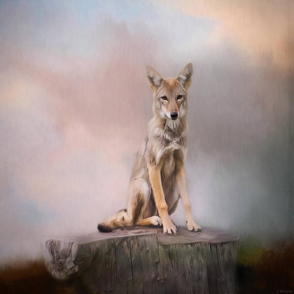 Painting - One - Wildlife Art by Jordan Blackstone