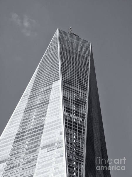 Photograph - One World Trade Center Iv by Clarence Holmes