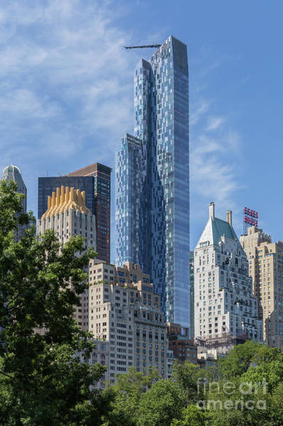 Photograph - One57 Residential Tower I by Clarence Holmes