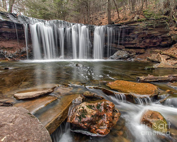 Photograph - Oneida Falls IIi by Rod Best