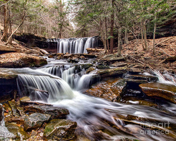 Photograph - Oneida Falls by Rod Best