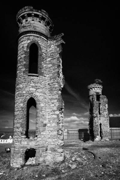 Wall Art - Photograph - Oneills Castle Castlehill Dungannon County Tyrone Northern Ireland by Joe Fox
