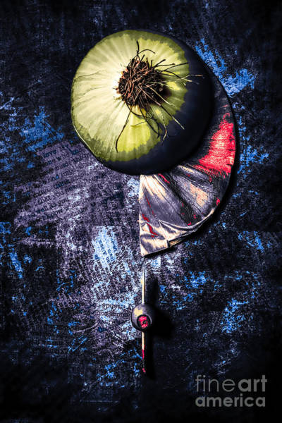 Photograph - Onion Abstracted by Michael Arend