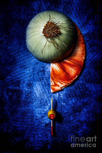 Photograph - Onion And Olive by Michael Arend