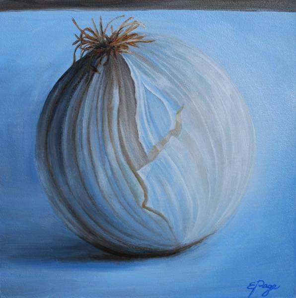 Painting - Onion by Emily Page