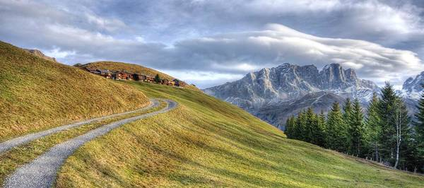 Photograph - Only In The Swiss Alps by Quality HDR Photography
