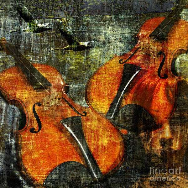 Photograph - Only Music Heals A Broken Heart by LemonArt Photography