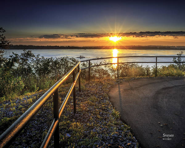 Onondaga Photograph - Onondaga Lake Sunrise by Scott Reyes