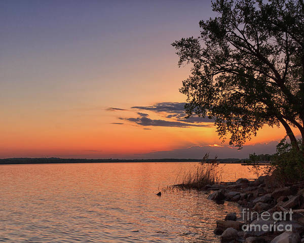 Photograph - Onondaga Lake Sunset II by Rod Best