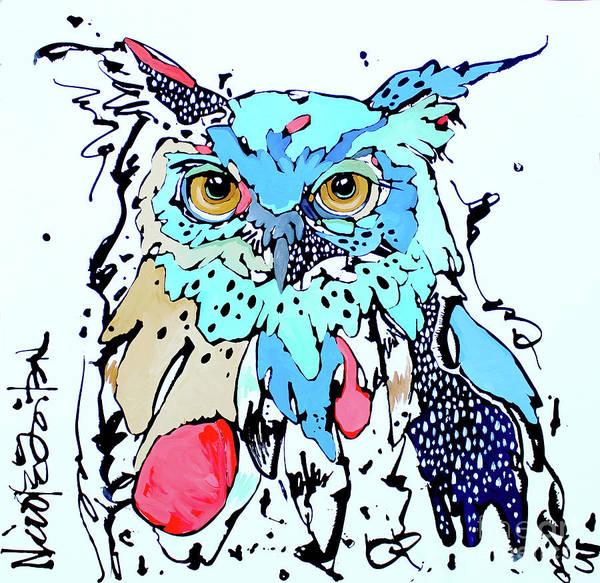 Painting - Onward II by Nicole Gaitan