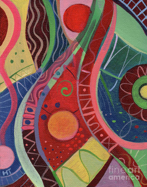 Painting - Onward Upward by Helena Tiainen
