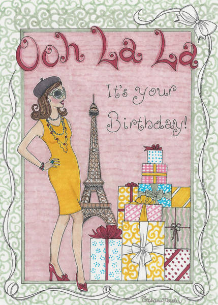 Mixed Media - Ooh La La by Stephanie Hessler