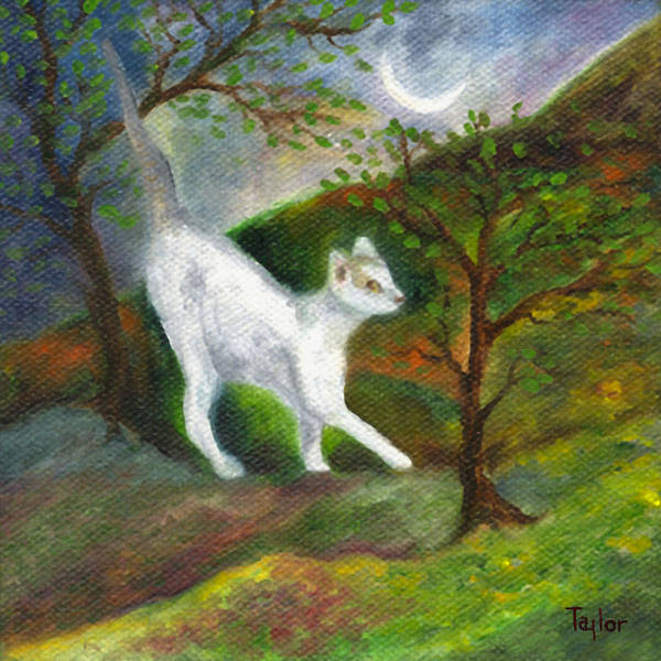 Painting - Oona Creeping by FT McKinstry