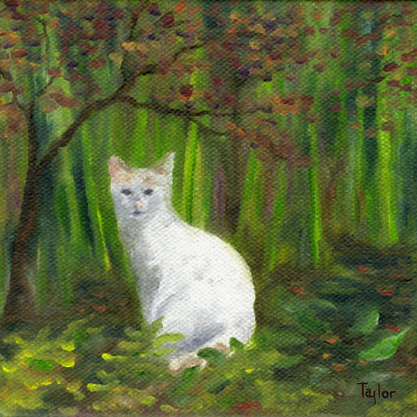 Painting - Oona Lurking by FT McKinstry