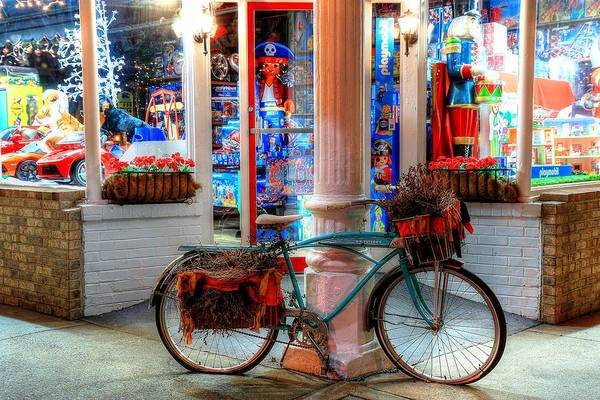 Photograph - O.p. Taylor's Toy Store Brevard North Carolina II by Carol Montoya
